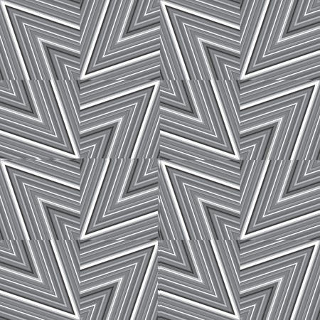 Abstract striped background in black and white Stock Photo - 7032845