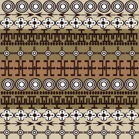 African ethnic symbols photo