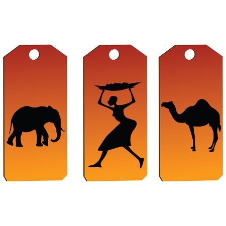 African price tags Stock Photo - 7031962