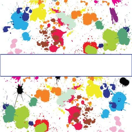 Set of ink spots Stock Photo - 7032562