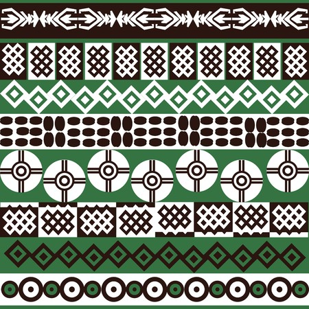 Ethnic African symbols background photo