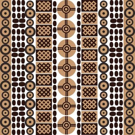 Ethnic african symbols on white background Stock Photo - 7032658