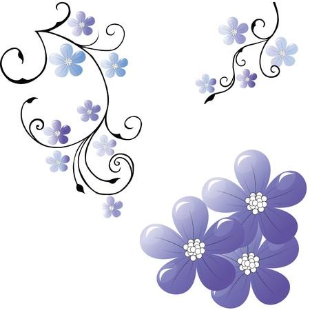 Floral elegant background photo