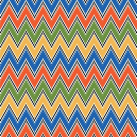 indigen: Etnic multicolored texture