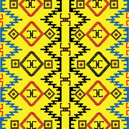 indigen: Native american colored texture