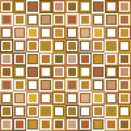 Pattern in brown tones, background with squares Stock Photo - 7032343