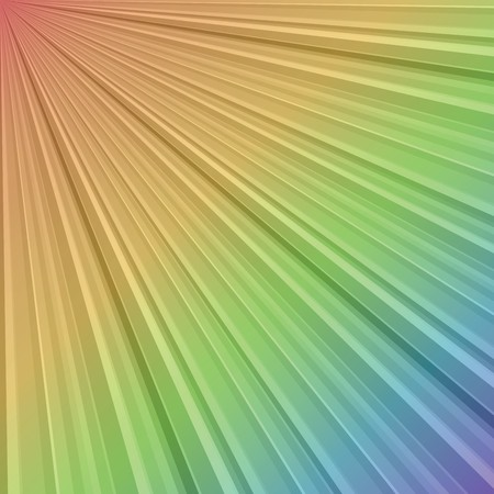 Rainbow stripes with gradient Stock Photo - 7032415