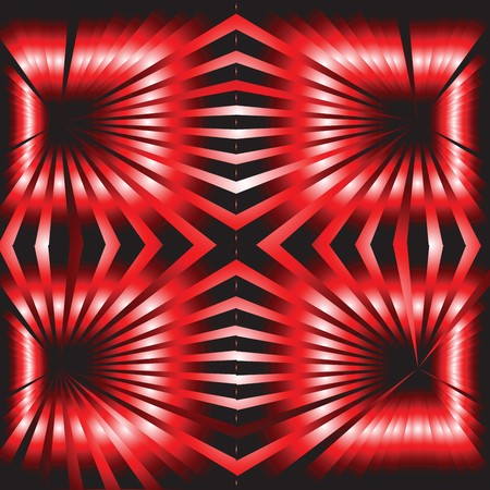 Red and black abstract background Stock Photo - 7032576
