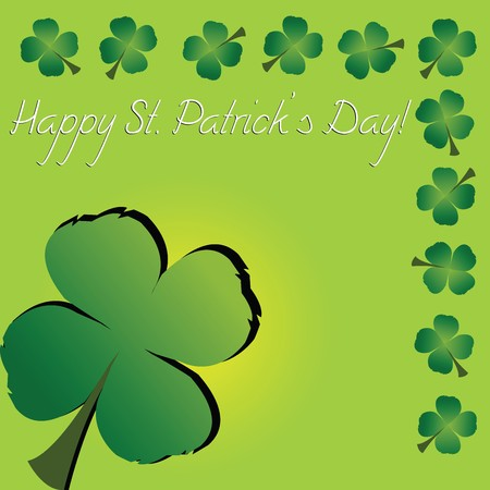 St. Patrick's Day card Stock Photo - 7032148