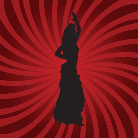 Spanish flamenco dancer Stock Photo - 7032016