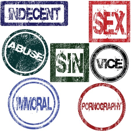 Stamps with sexual influence Stock Photo - 7032854