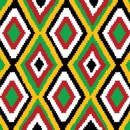 ilustraciones africanas: Textura con adornos tradicionales