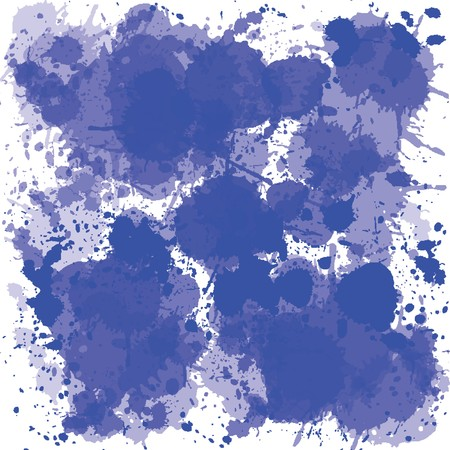Blue ink spots Stock Photo - 7164153