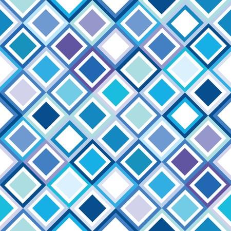 Geometrical pattern in blue tones Stock Photo - 7164166