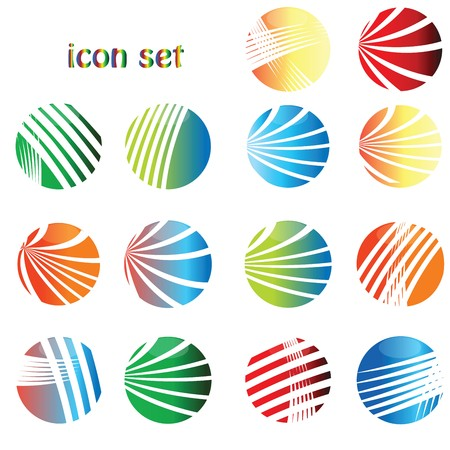icon set, web buttons Stock Photo - 7321346