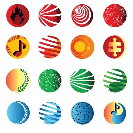 Set of web icons Stock Photo - 7352847