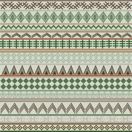 Background with geometrical shapes in brown and green tones photo