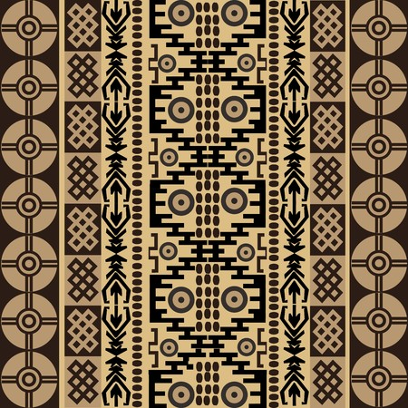 Ethnic african symbols, texture with traditional ornaments photo