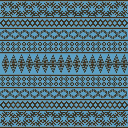 Blue African texture photo