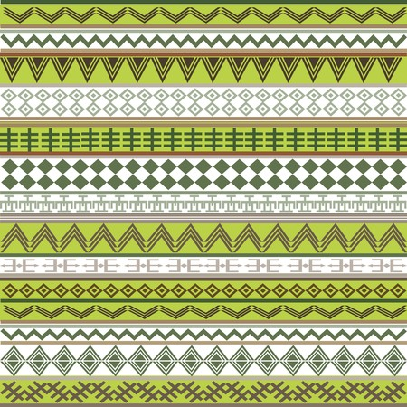 green texture with african motifs photo