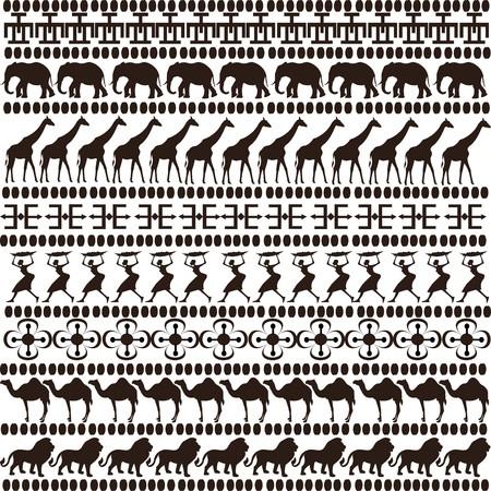 brown ethnic motifs photo