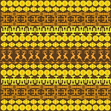 Traditional African pattern photo