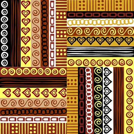 Background with ethnic motifs photo