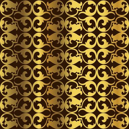 Golden pattern photo