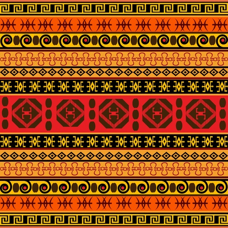 ethnic pattern: Traditional African pattern Stock Photo