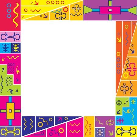 for children: Colored frame for children