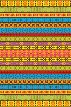 Ethnic African motifs Vector
