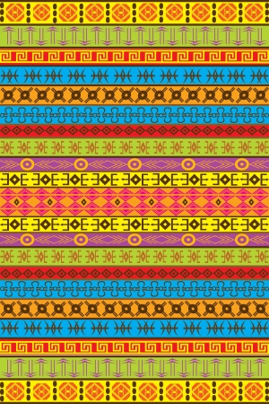 motifs: Ethnic African motifs Illustration