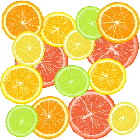 citric: Background with citric fruits