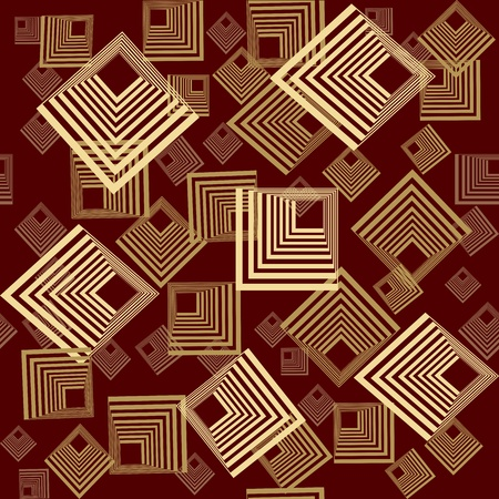 optical image: Background pattern with squares in beige tones