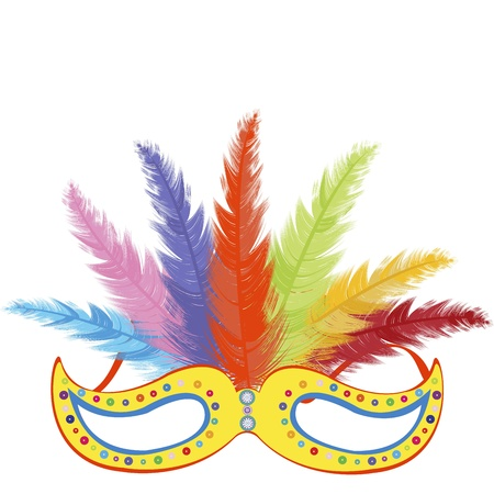 Party mask Stock Vector - 11878428