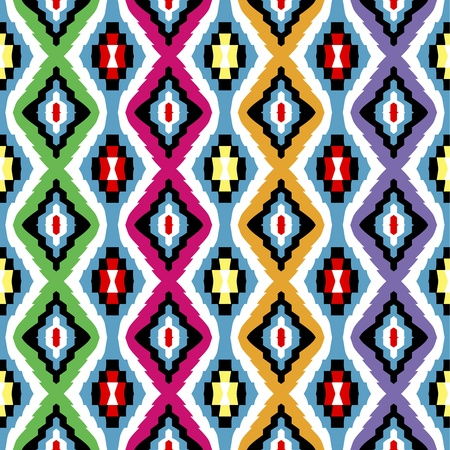 ethnic pattern: Colored ethnic texture