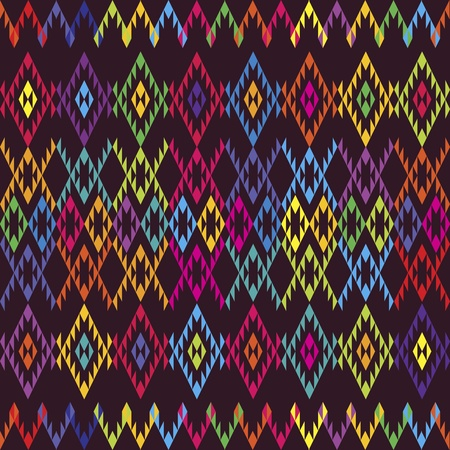 bosna: Ethnic tappeto colorato Vettoriali