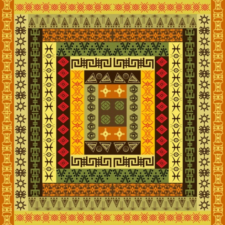Ethnic colored texture Vector