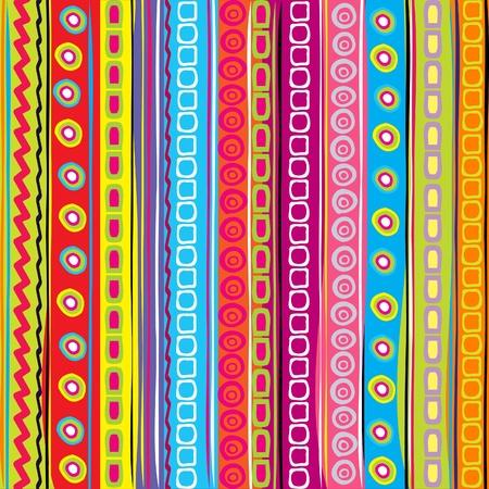 arcoiris caricatura: Tira de colores, fondo abstracto Vectores