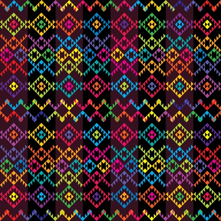 mexican art: Ethnic colored carpet