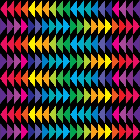 Colored triangle background in bright tones Vector