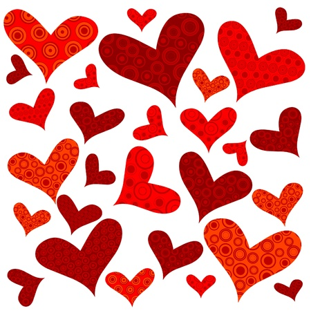 love wallpaper: Valentines Day background with hearts, wrapping paper