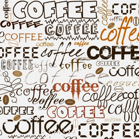 caffeine: Coffee background