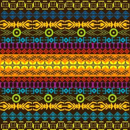 motifs: African colored background