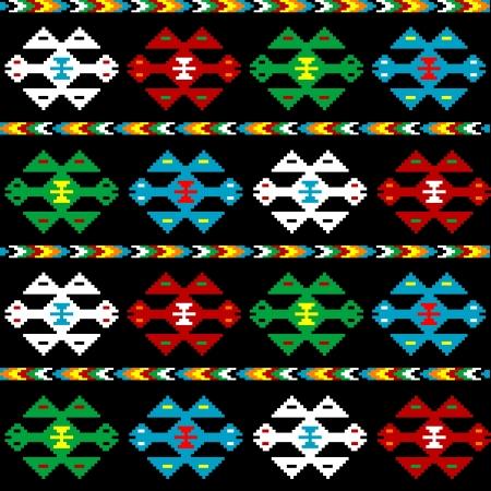 Hintergrund mit ethnischen Textur