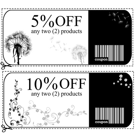 discount card: Voucher cards