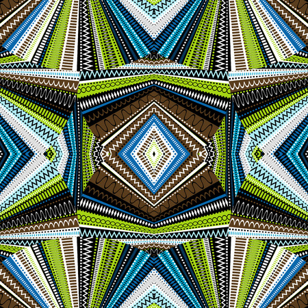 african culture: Ethnic background, abstract kaleidoscope
