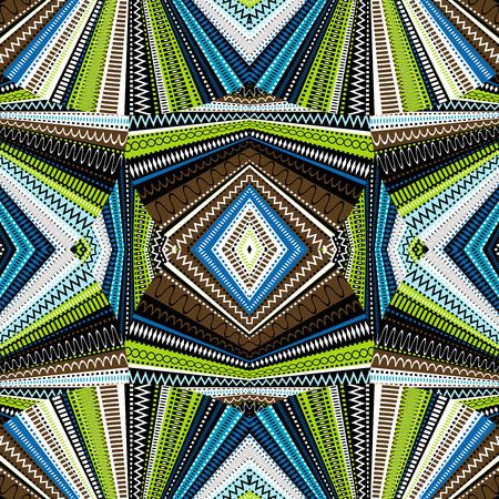 work popular: Ethnic background, abstract kaleidoscope