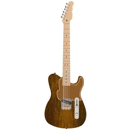 strat: Electric guitar Illustration