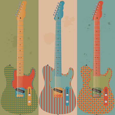 electric guitars: Vintage electric guitars